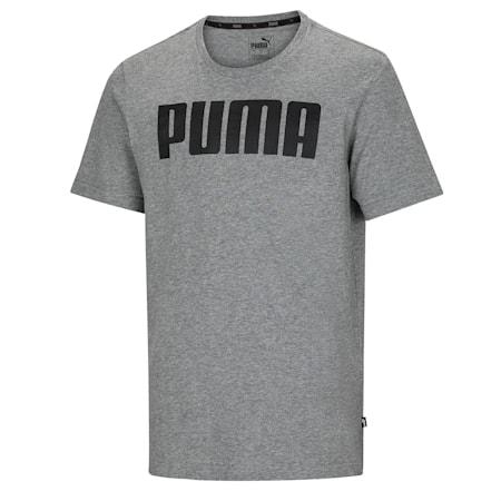 Essentials T-shirt voor heren, Medium Gray Heather, small
