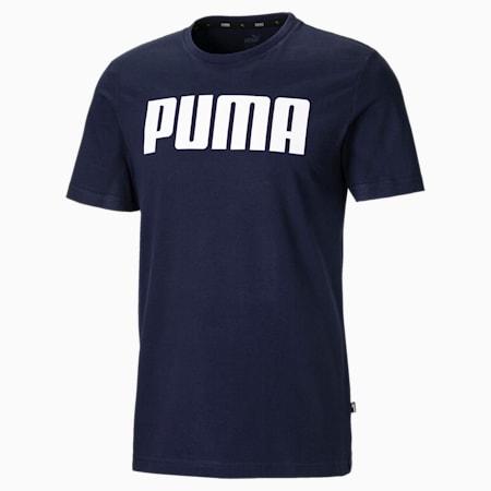Essentials T-shirt voor heren, Peacoat, small