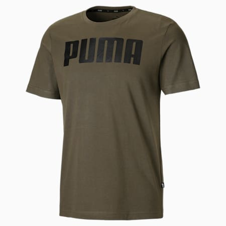 Essentials Men's Tee, Olive Night, small
