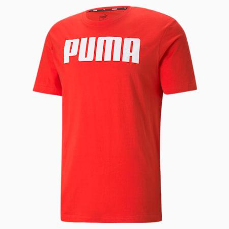 Essentials Herren T-Shirt, High Risk Red, small