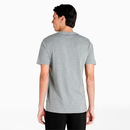 PUMA Essential Small Logo Men's T-Shirt, Medium Gray Heather, small-IND