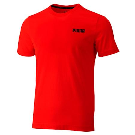Essentials Small Logo Men's Tee, Puma Red, small-SEA