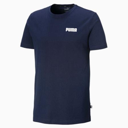 Essentials Small Logo Herren T-Shirt, Peacoat, small