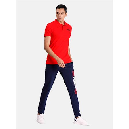 Essentials Piqué Men's Polo, Puma Red, small-IND