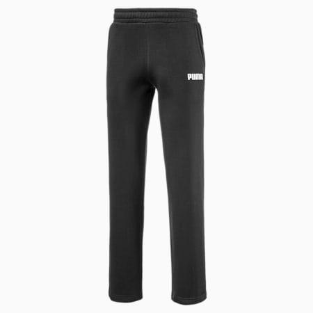 Essentials fleece sweatpants heren, Cotton Black, small