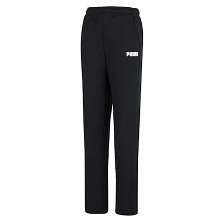 에션셀 푸마 팬츠/ESS PUMA Pants FL op, Cotton Black, small-KOR