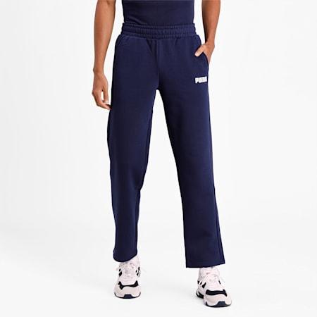 Essentials Fleece Men's Sweatpants, Peacoat, small-IND