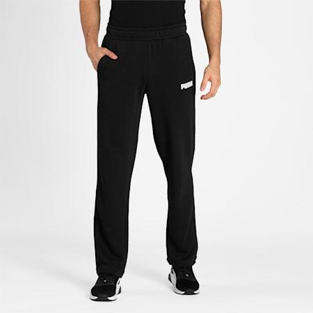 ESS PUMA Pants TR op, Cotton Black, small-IND