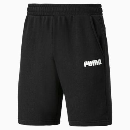 Essentials Herren Bermuda-Sweatshorts, Cotton Black, small