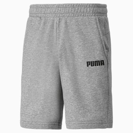 Essentials Herren Bermuda-Sweatshorts, Medium Gray Heather, small