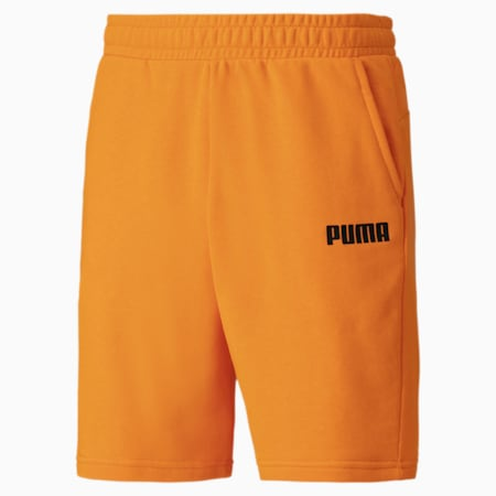 Essentials Herren Bermuda-Sweatshorts, Orange Popsicle, small