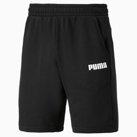 Essentials Jersey Men's Shorts, Cotton Black, small