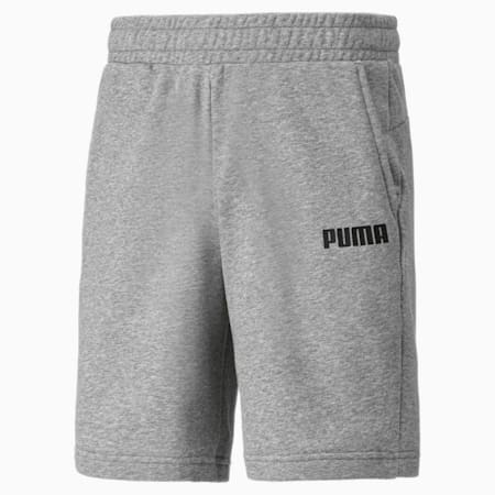 Essentials Jersey Herren Shorts, Medium Gray Heather, small