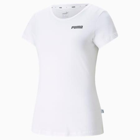 Essentials Women's Tee, Puma White, small-SEA