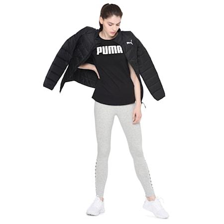 ESS PUMA  T-shirt, Cotton Black, small-IND