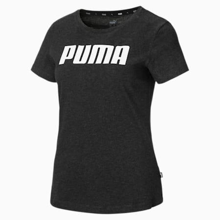 Essentials Damen T-Shirt, Dark Gray Heather, small