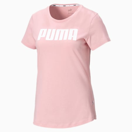 Essentials T-shirt voor dames, Bridal Rose, small
