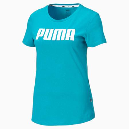 T-Shirt Essentials pour femme, Caribbean Sea, small