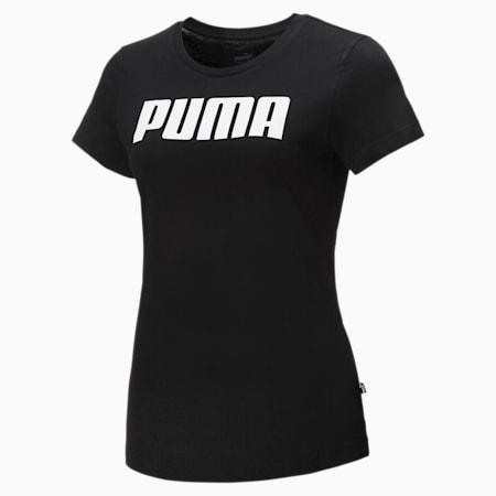 Essentials Women's Tee, Puma Black, small