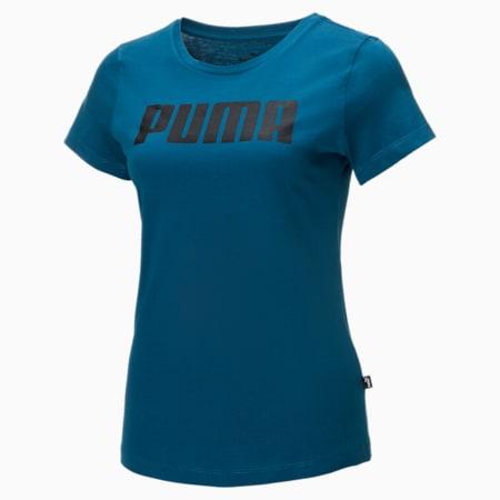 Essentials Damen T-Shirt, Digi-blue, small
