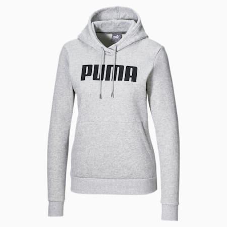 Sweatshirt à capuche Essentials Fleece pour femme, Light Gray Heather, small