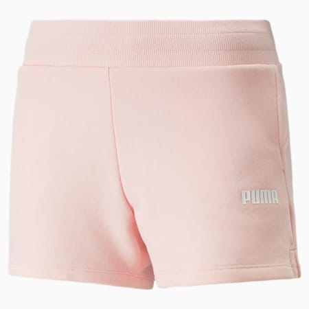 Essentials Knitted Women's Sweat Shorts, Crystal Rose, small
