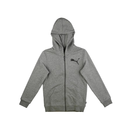 KA Hooded Jacket, Medium Gray Heather, small-IND