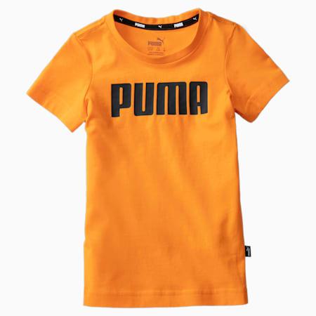 Chłopięcy T-shirt Essentials, Orange Popsicle, small