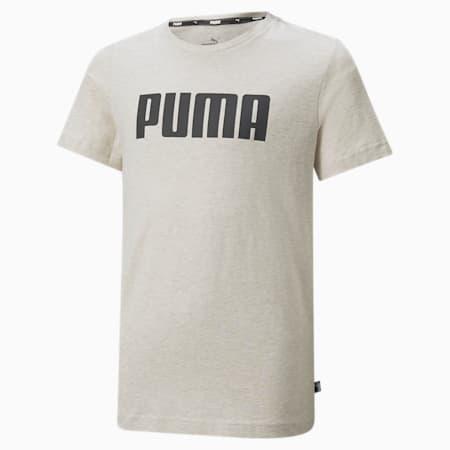 T-shirt Essentials Boys, Oatmeal-Heather, small