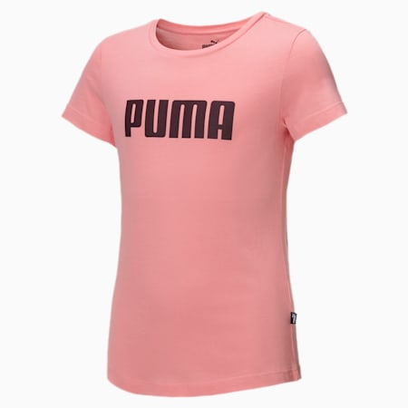 Dziewczęcy T-shirt Essentials, Salmon Rose, small