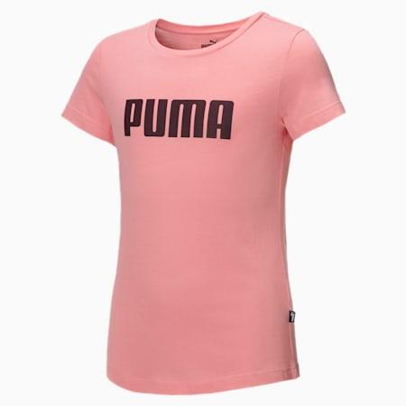 T-shirt Essentials Girls, Salmon Rose, small