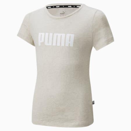 Essentials Mädchen T-Shirt, Oatmeal-Heather, small