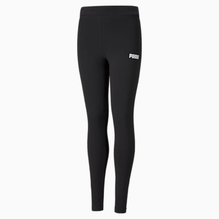 Essentials legging meisjes, Puma Black, small