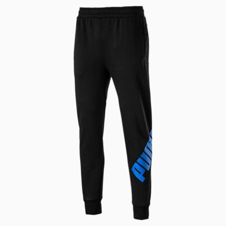 Big Logo Pant Cotton Black, Cotton Black-Strong Blue, small-IND
