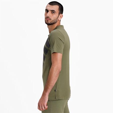 Oversized Logo Men's T-shirt, Olivine-PUMA, small-IND