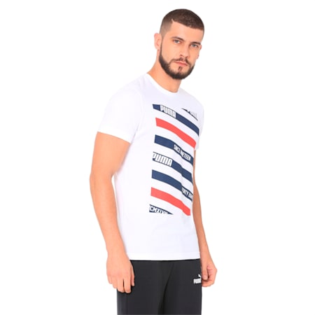 Lines Graphic, Puma White, small-IND