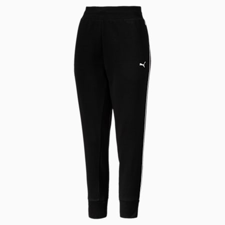 REBEL Track Pants, Cotton Black, small