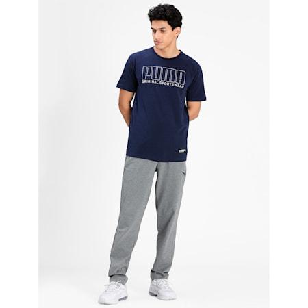 Athletics Men's Graphic T-Shirt, Peacoat, small-IND