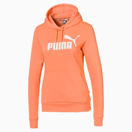 Essentials Women's Hoodie, Cantaloupe, small-IND