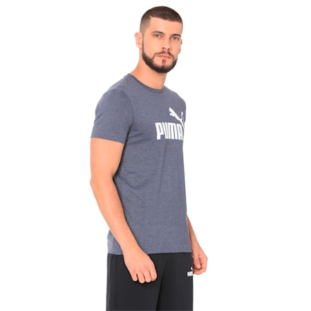 ESS+ Heather Tee, Peacoat Heather, small-IND