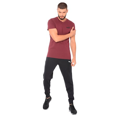 ESS+ V Neck Tee, Fig, small-IND