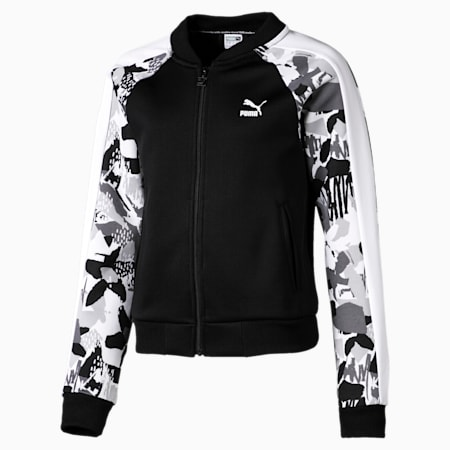 Classics T7 Jacket, Puma Black-AOP, small-IND