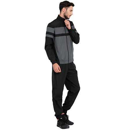 CB Woven Suit, Puma Black-Iron Gate, small-IND