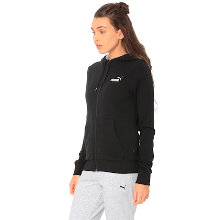 ESS+ Sherpa Hooded, Cotton Black, small-IND