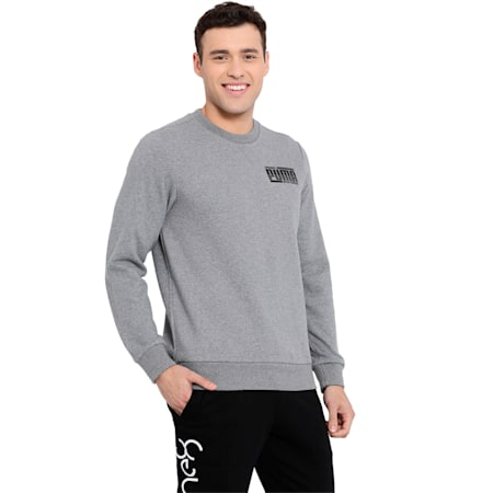 Athletics Crew FL, Medium Gray Heather, small-IND