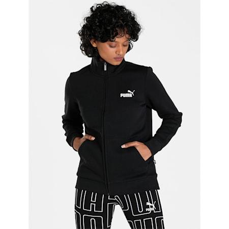 ESS Track Jacket FL, Cotton Black, small-IND