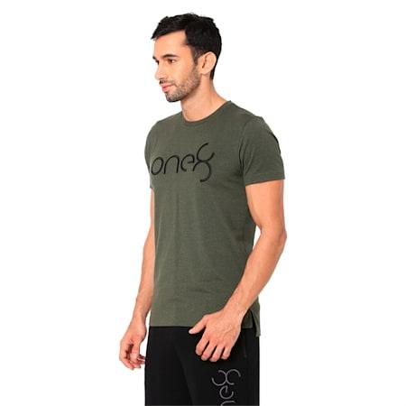 PUMA x one8 Virat Kohli Men's T-Shirt, Forest Night Heather, small-IND