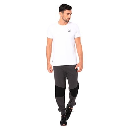 PUMA x one8 Virat Kohli Men's Sweat Pants, Dark Gray Heather, small-IND