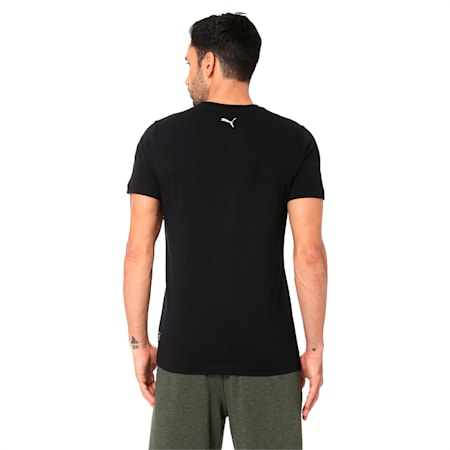 PUMA x one8 Virat Kohli Men's Image T-Shirt, Puma Black, small-IND