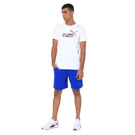 Mens Graphic Tee VIII, Puma White, small-IND